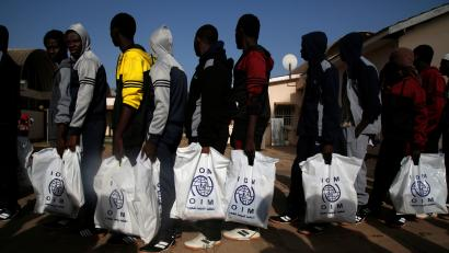 'Back Way': 24 Gambians including two female minors stranded in Libya return to Gambia after assistance from IOM