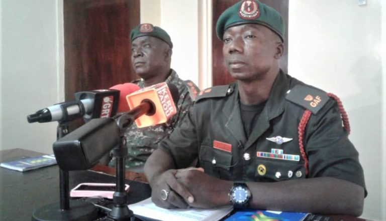 Army dismisses soldier Nuha Conteh and hands him over to DLEAG