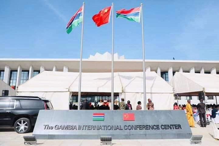 Image result for The Gambia inaugurated on Saturday a Chinese-built international conference center.