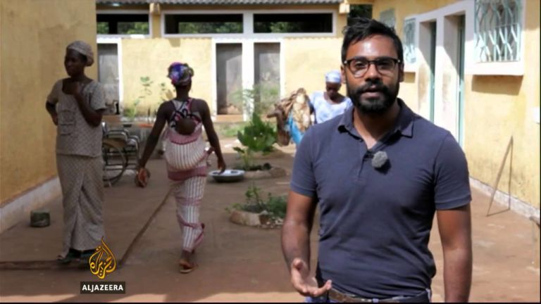Al Jazeera's Nicolas Haque fumes as government 'denies' agency accreditation that covers Three Years Jotna's protest and Saturday's anti-Jammeh march