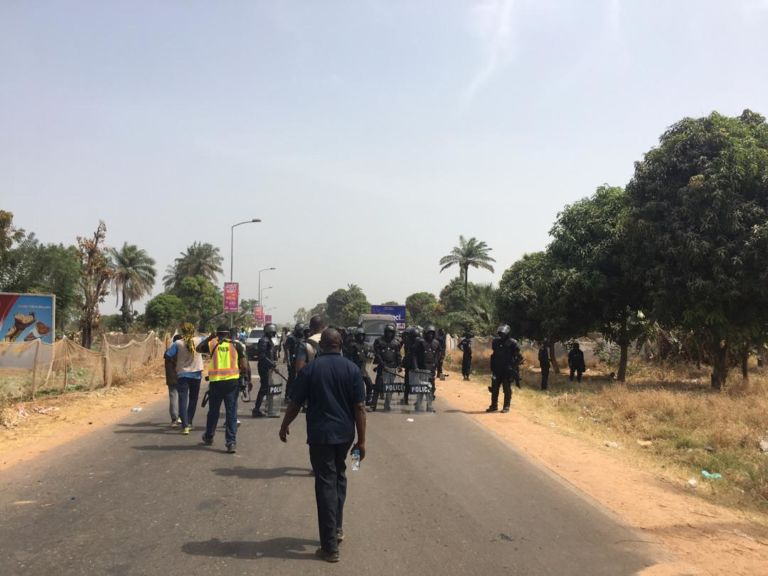 Breaking news: Gambia government brands Three Years Jotna 'violent' movement – as it bans group from 'ever' operating in Gambia
