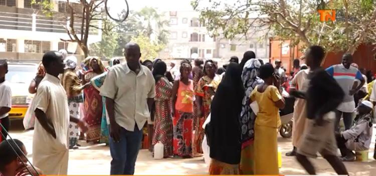 WATCH: Barrow government food distribution in Bakoteh