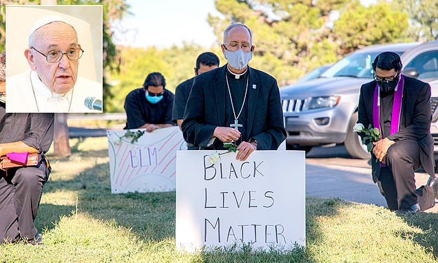 Pope Francis calls El Paso bishop and thanks him for showing solidarity with George Floyd protesters
